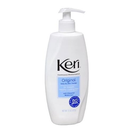 3 Pack Keri Original Dry Skin Therapy Lotion Continuous Moisturization 15 Oz Ea