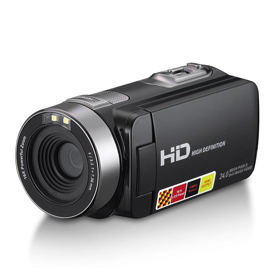 5MP LCD Touchscreen Digital Camera Camcorder DV 1080P IR Night Vision