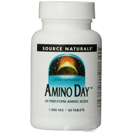 Source Naturals Amino Day w/20 Amino Acids 60 tab, Pack of