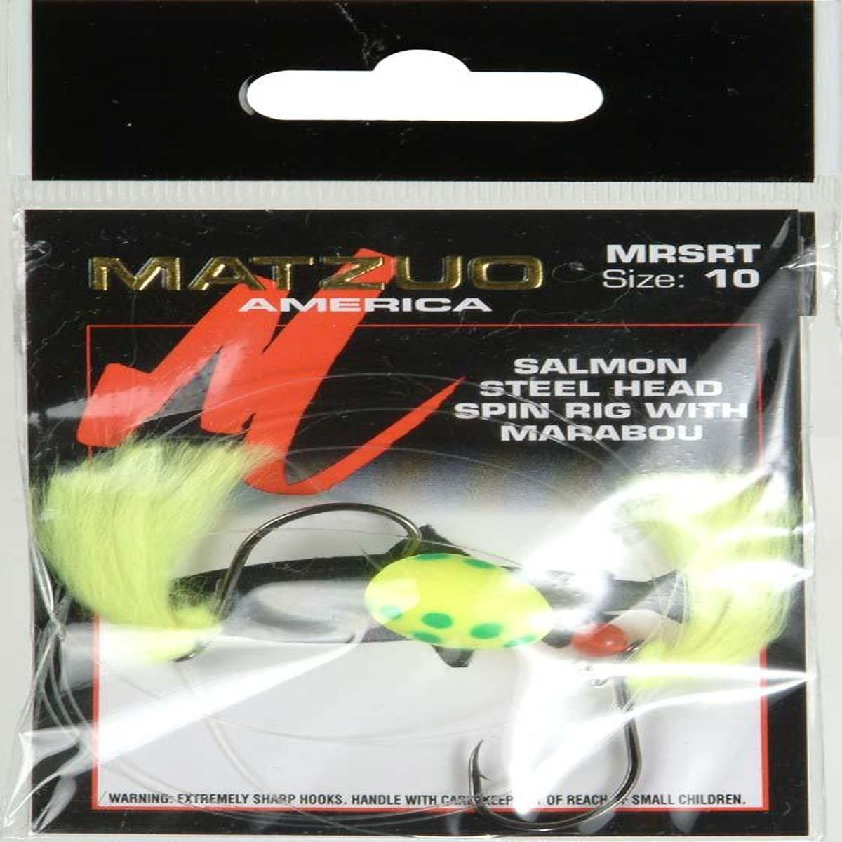 Matzuo Salmon/Steelhead Glow Rig, Green