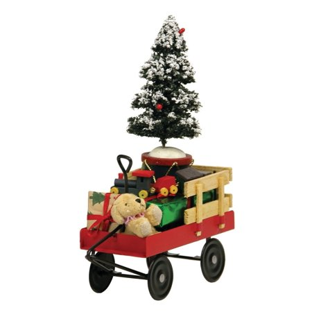 Byers' Choice Red Wagon with Toys #676, 1. Byers' Choice Red Wagon with Toys is beautifully handcrafted to add a bit of whimsical charms to your home. By Byers