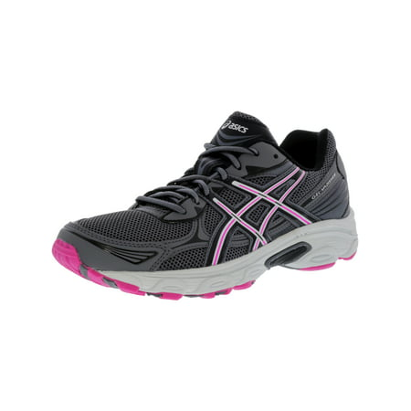 Asics Women's Gel-Vanisher Carbon / Black Pink Glow Ankle-High Running Shoe - (Best Glow In The Dark Sneakers)