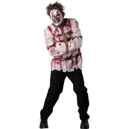 Mens Circus Psycho Clown Halloween Costume](Circus Theme Costume)