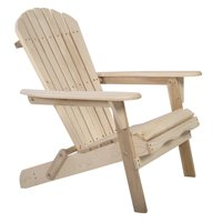 Topbuy Outdoor Foldable Fir Wood Chair