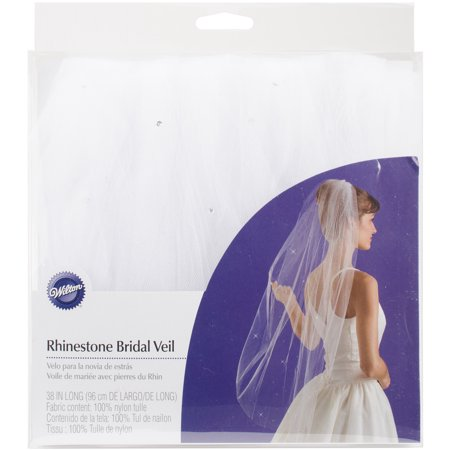 Wilton Rhinestone Bridal Veil