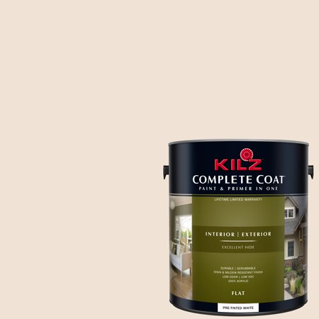 KILZ COMPLETE COAT Interior/Exterior Paint & Primer in One #LJ150 Basic Beige