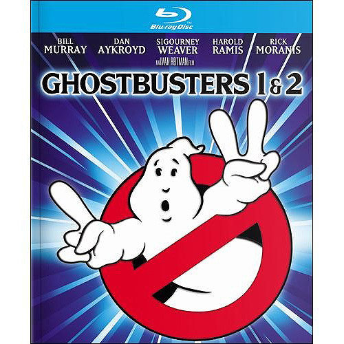 Ghostbusters / Ghostbusters II (4K-Mastered) (Blu-ray + Digital HD) (With INSTAWATCH) (Widescreen) 44295