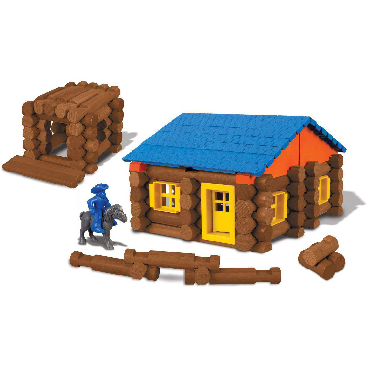 LINCOLN LOGS ? Oak Creek Lodge ? 137 Pieces ? Ages 3+ Preschool Education Toy by LINCOLN LOGS