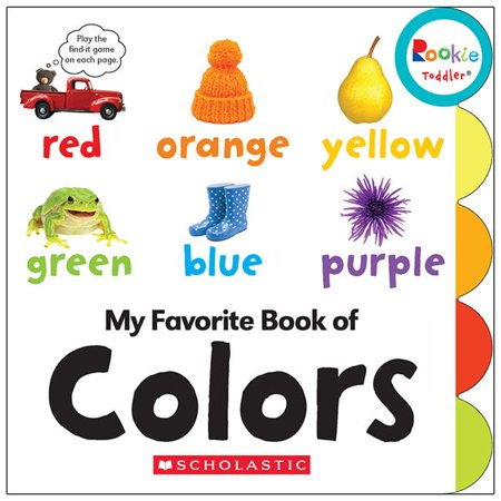 Scholastic Teaching Resources SC-662876BN Rookie Toddler My Favorite Book of Colors Board Book - Pack of 3 - image 1 of 1