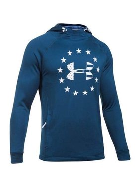 5665cbbb5 Product Image Under Armour Men's Freedom Tech Terry Fabric Hoodie 1309409  Blue