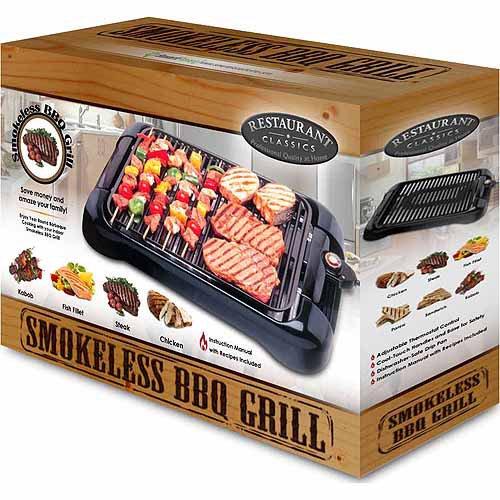 Smart Planet Smokeless Indoor Grill - Walmart.com