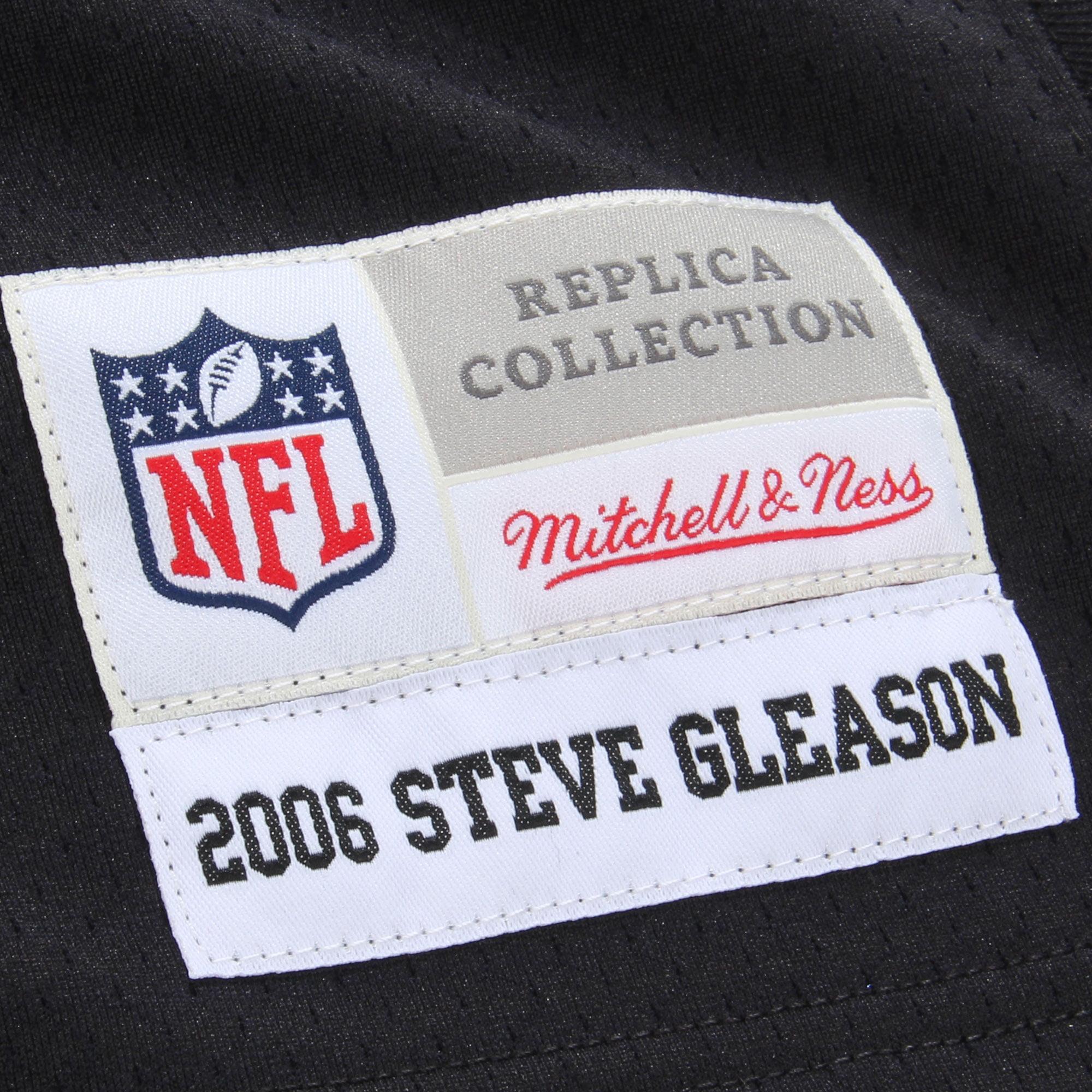 Steve Gleason New Orleans Saints Mitchell   Ness Retired Player Vintage Replica  Jersey - Black - Walmart.com fc289cd7a