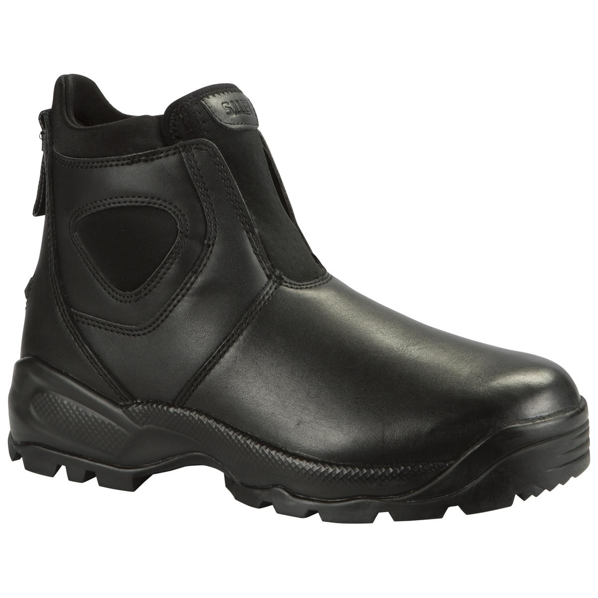 5.11 Tactical Company Boot 2.0, Pull On Boot, Law Enforcement, Work Boot, Black