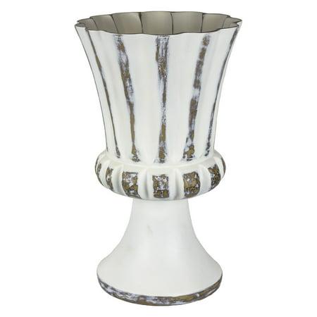 Footed Urn - Sagebrook Home Decorative Resin Footed Urn Table Vase