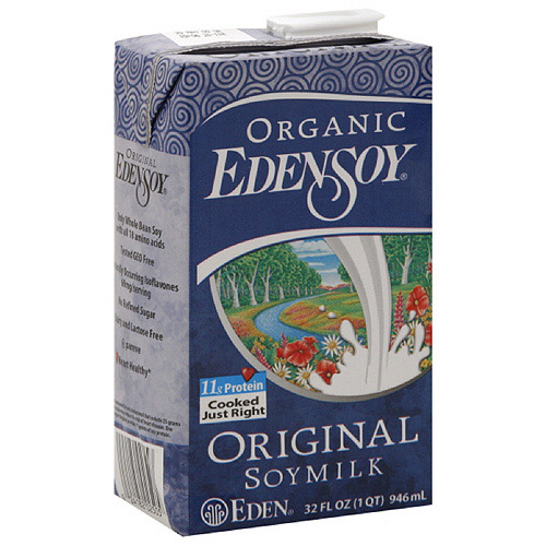 Eden Foods Edensoy Original Organic Soymilk, 32FO (Pack of 12)