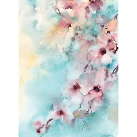 Cherry Blossoms Rolled Canvas Art - Sophia Rodionov (18 x 24)