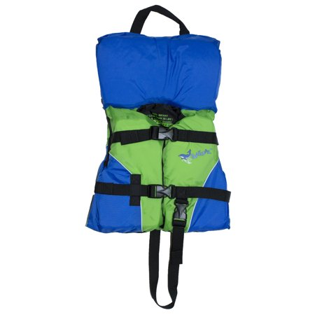 Surf Gear US Coast Guard Approved Infant's Life Vest (Up to 30 pounds) (Green) Coast Guard Approved Type