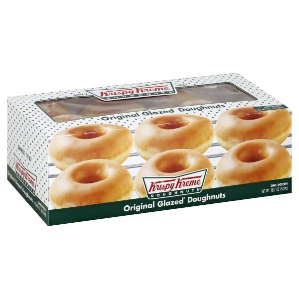 Krispy Kreme Doughnut Krispy Kreme Doughnuts 12 Ea Walmart Com