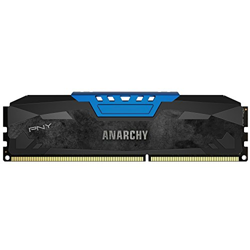 PNY Memory MD8GSD3186610AB 8GB DDR3 1866MHz CL10 DIMM Blue 1.5V Retail