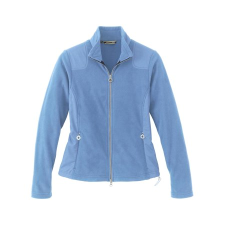 North Face Women Apex Bionic Jacket (North End Ladies Recycled Fleece Full-Zip Jacket, LAKE BLUE 800, 3X Plus)