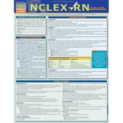 BarCharts 9781423218746 Nclex-Rn Study Guide Quickstudy Easel
