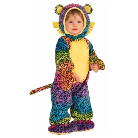 Groovy Leopard Infant Baby Costume
