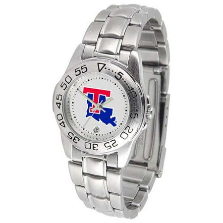 (Louisiana Tech Sport Women's Steel Band Watch)