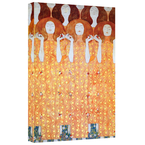 ArtWall ''Angel Brides'' by Gustav Klimt Painting Print on Canvas