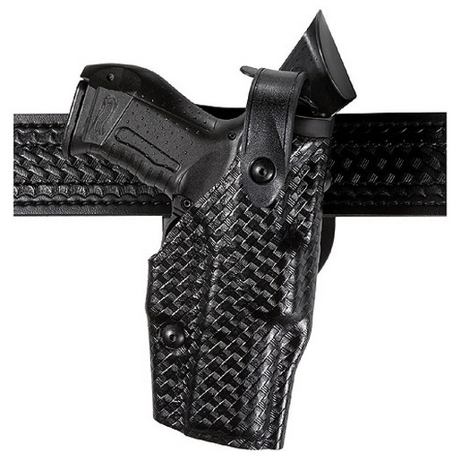 Safariland 6360-383-131 Duty Holster STX Black Tact RH Fits Glock 20 by SAFARILAND