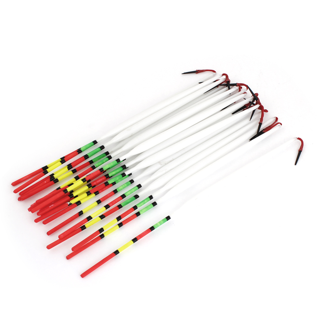 Unique Bargains 20 Pcs Fishing Floaters Bobbers 24cm Long for Fresh or Salt Water by