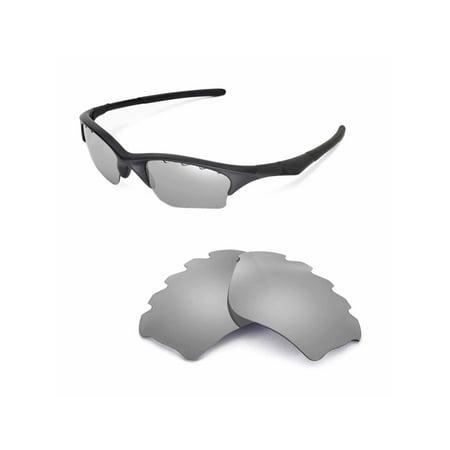 6ac609c313 Walleva - Walleva Titanium Polarized Vented Replacement Lenses for Oakley  Half Jacket XLJ Sunglasses - Walmart.com