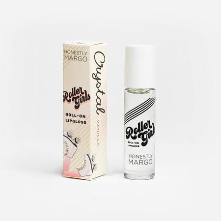 Roller Girls Roll-On Lipgloss - CRYSTAL Vanilla by Honestly Margo - Vanilla Girl
