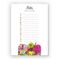 Personalized Back To School 4.25 x 9.25 Notepad - Yay All Day