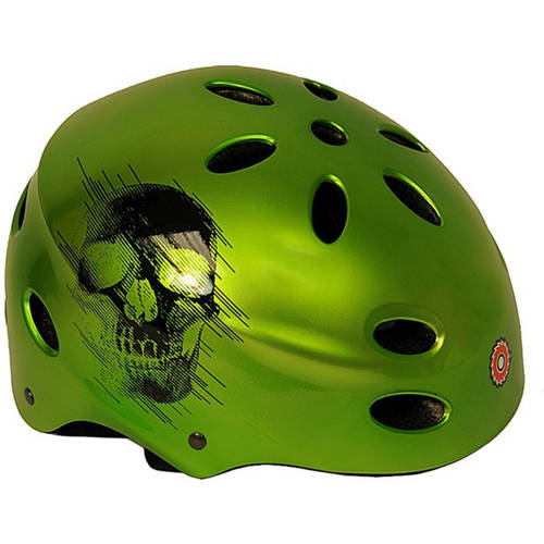 Razor V17 Child's Multi-Sport Helmet, Glossy Black, For Ages 5-8