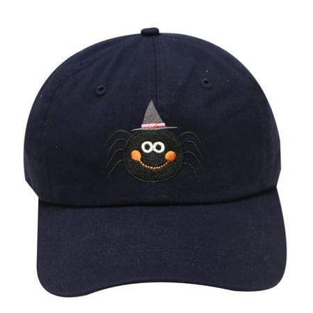 City Hunter C104 Halloween Cute Spider Cotton Baseball Caps - Navy](Cute Halloween Spider)