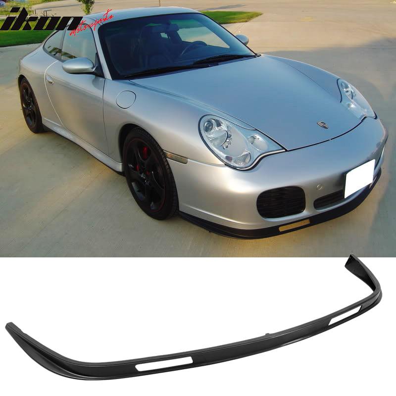 Urethane Porsche 996 911 Coupe Turbo Carrera 4S Front Bumper Lip Spoiler Bodykit