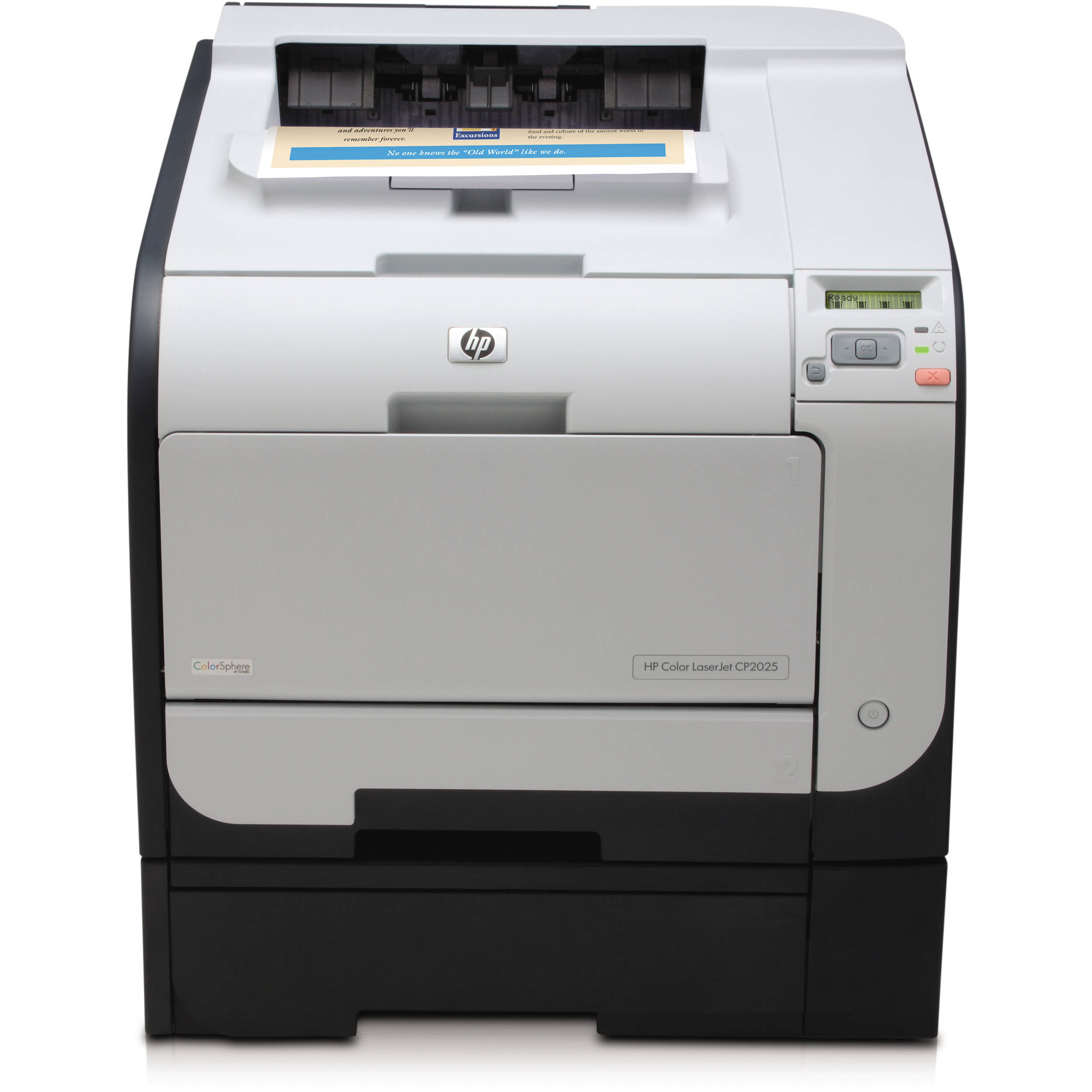 HP ish Color LaserJet CP-2025X Network Laser Printer (CB4...