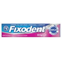 Fixodent Complete Original Denture Adhesive Cream, 2.4 oz