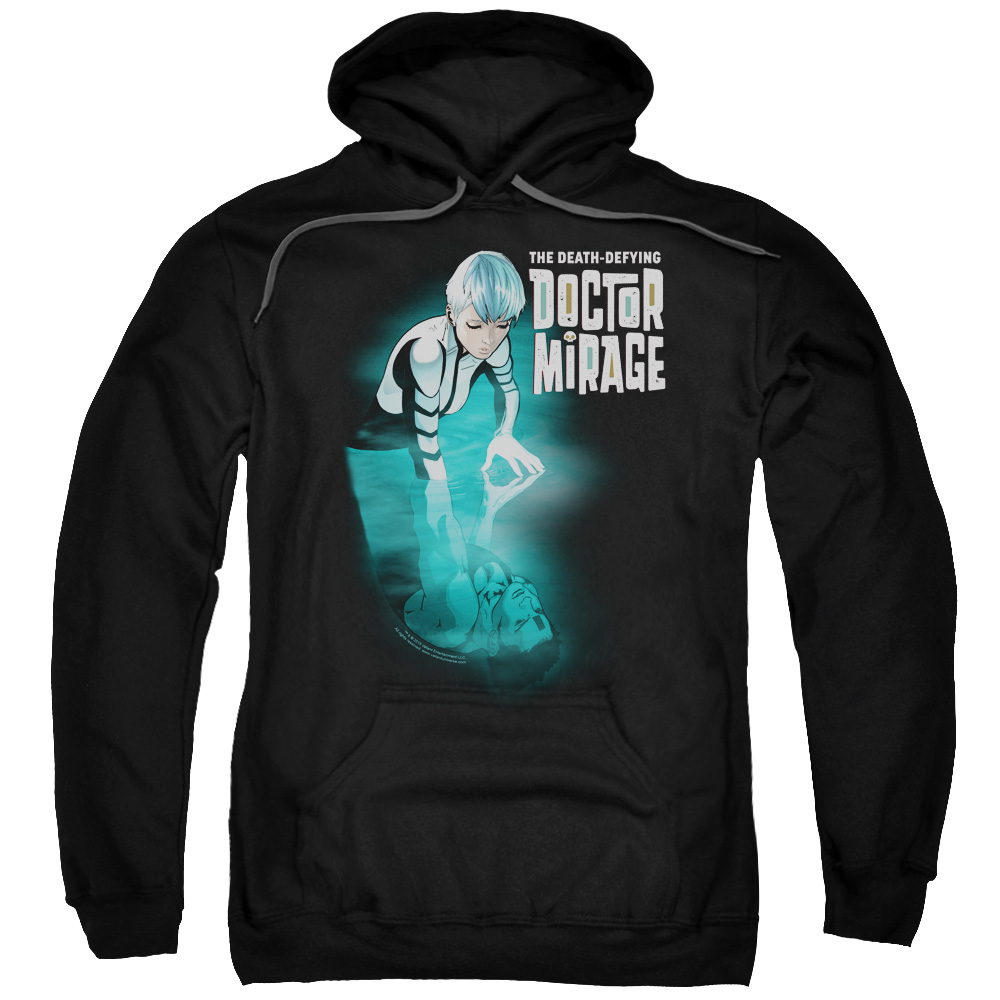 Doctor Mirage Crossing Over Mens Pullover Hoodie