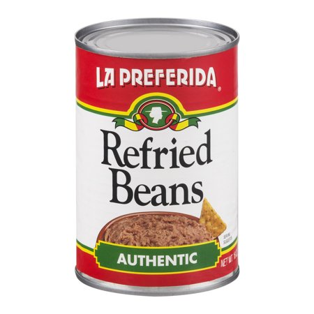 - (6 Pack) La Preferida Refried Beans, 16 Oz
