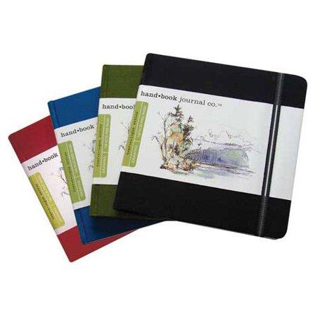 Global Art   Hand Book Artist Journals   Square  5 1 2  X 5 1 2    Cadmium Green