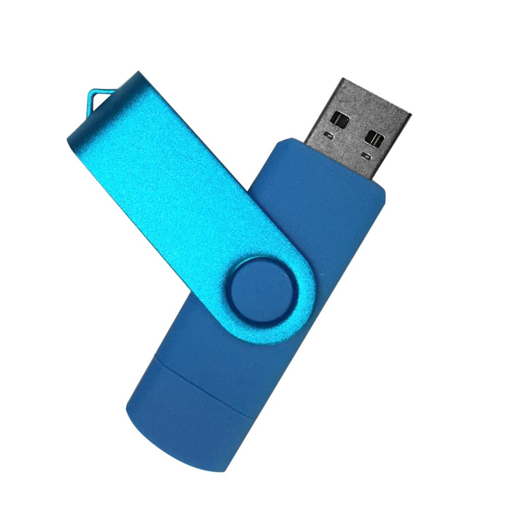 High Speed OTG USB2.0 Flash Drive Memory Stick Aluminum Alloy USB Pen Pendrives U Disk for Android Smartphone Computer