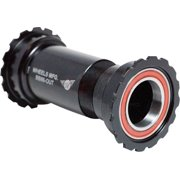 Wheels Manufacturing Outboard BB86/92 Shimano Bottom Bracket with Angular Contact Bearings Black Threaded Cups