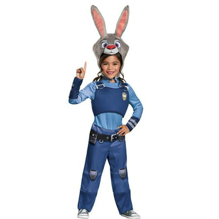 Morris Costumes DG99841M Zootopia Judy Hopps Child Costume, Size 3 - 4 (Tall Size Costumes)