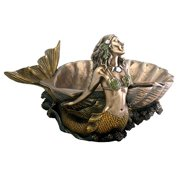 Mermaid Shell Dish Designer Houseware Decoration