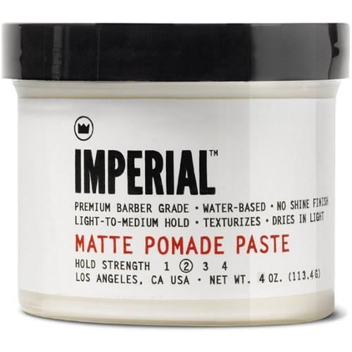 Imperial Barber Products Matte Pomade Paste 4 oz (Pack of 4)