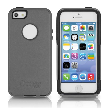 online store 24567 9d192 OtterBox Commuter Series Case for Apple iPhone 5 / 5S / SE -Marine  (Gunmetal Gray/Admiral Blue)
