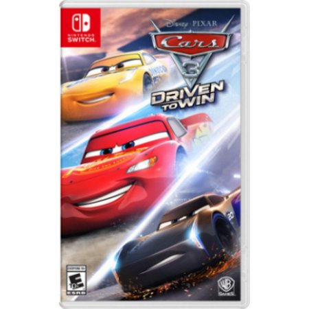 Cars 3: Driven to Win, Disney, Nintendo Switch (Best Car Shooting Games)