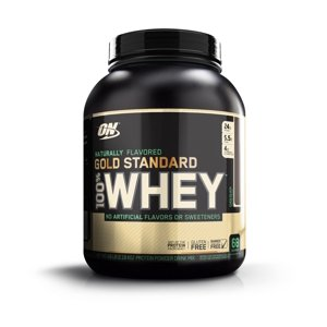 Optimum Nutrition Gold Standard 100% Whey Protein Powder, Chocolate, 24g Protein, 4.8 Lb