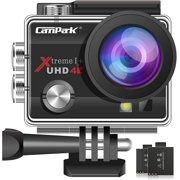 Campark ACT74 Action Camera 16MP 4K WiFi Waterproof Sports Cam 170 Degree Ultra Wide Angle Lens with 2 Pcs Batteries and Mounting Accessories Kits - Best Reviews Guide